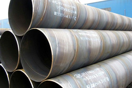 Welded Steel Pipes : Helical welded pipe cangzhou steel group