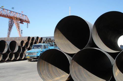 Large Diameter Welded Spiral Pipe