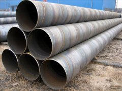 Double-faced Spiral Arc Merged Spiral Welded Steel Pipe