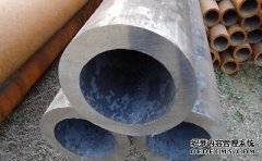Identification method of fake thick-walled seamless pipe