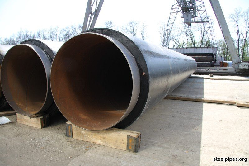 Insulation Large Diameter Spiral Steel Pipe