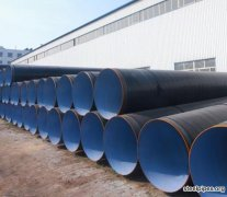 How long is the life of a spiral steel pipe ?